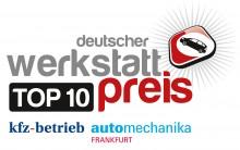 Deutscher Werkstattpreis 2018 – Autoservice Demmler in den TopTen