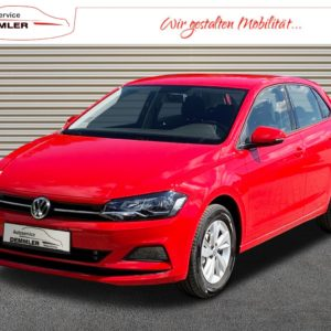 VW Polo rot Jahreswagen