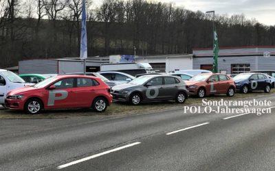 Sonderangebot: VW-Polo-Jahreswagen zwischen 3000 und 10000 km