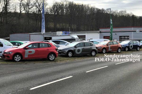 VW Polo Sonderangebote Jahreswagen